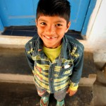 As the son of a staff member, this little guy is seen at the Ashram nearly every day