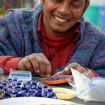 Many of those who make the jewelry are disabled, but they are empowered by their ability to contribute.