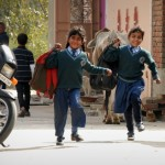 School is a top priority for the children at the family houses, but like all kids the world over, getting out of school is still the best part of the day.